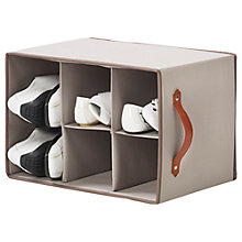 Buy neatfreak closetMAX Greystone Collection Shoe Cubby Online at johnlewis.com