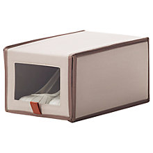 Buy neatfreak closetMAX Greystone Collection Ladies' Shoe Box Online at johnlewis.com