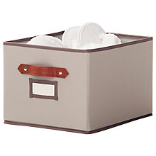 Buy neatfreak closetMAX Greystone Collection Collapsible Storage Box, Large Online at johnlewis.com
