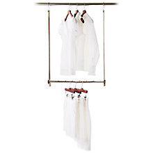 Buy neatfreak closetMAX MAXbar Extendable Wardrobe Hanging Bar Online at johnlewis.com