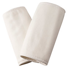Buy Ergobaby Baby Carrier Teething Pads, Cream Online at johnlewis.com