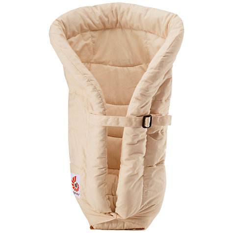 Buy Ergobaby Infant Insert, Neutral Online at johnlewis.com