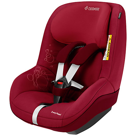 Buy Maxi-Cosi 2wayPearl i-Size Car Seat, Raspberry Red Online at johnlewis.com
