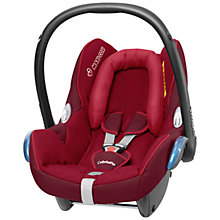 Buy Maxi-Cosi Cabriofix Infant Carrier, Raspberry Red Online at johnlewis.com