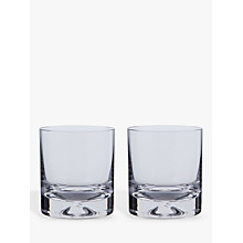 Buy Dartington Crystal Dimple Old Fashioned Whiskey Glasses, Set of 2 Online at johnlewis.com