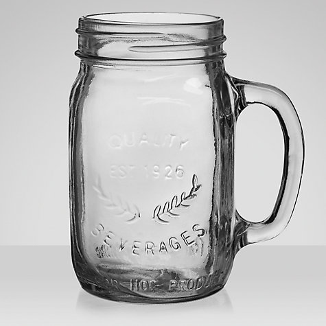 Buy John Lewis Diner Jar Glass Online at johnlewis.com
