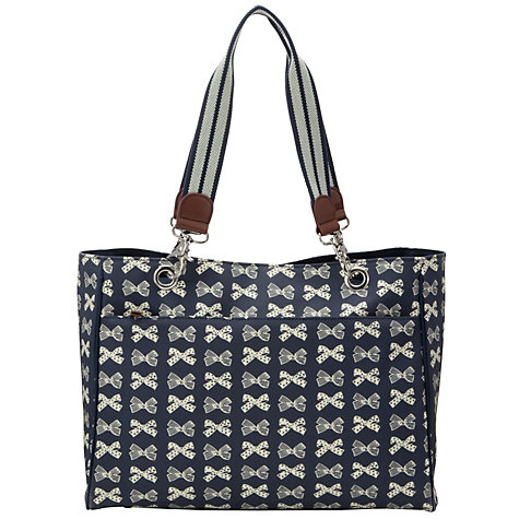 Buy Pink Lining Bramley Bows Print Tote Bag Online at johnlewis.com