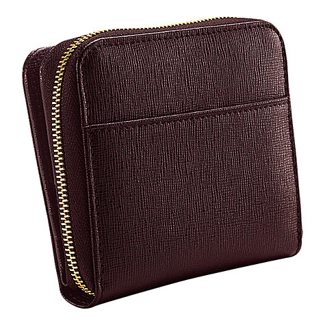 Buy Aspinal of London Mini Continental Zipped Coin Purse Online at johnlewis.com