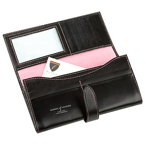 Buy Aspinal of London Ladies Leather Purse Online at johnlewis.com