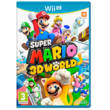 Buy Super Mario 3D World, Wii U Online at johnlewis.com