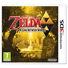 Buy The Legend of Zelda: A Link Between Worlds, 3DS Online at johnlewis.com