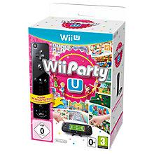 Buy Wii Party U with Remote Plus, Wii U Online at johnlewis.com
