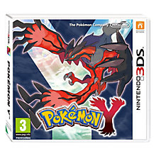 Buy Pokemon Y, 3DS Online at johnlewis.com