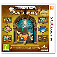 Buy Professor Layton and the Azran Legacy, 3DS Online at johnlewis.com