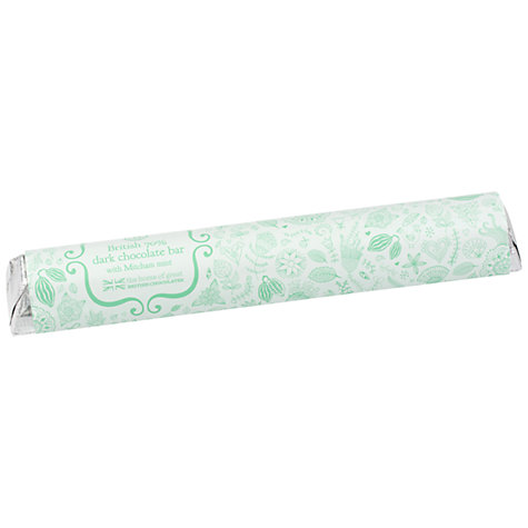 Buy House of Dorchester British Dark Chocolate Mint Bar, 85g Online at johnlewis.com