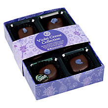 Buy House of Dorchester Violet Cremes Chocolate Collection, 75g Online at johnlewis.com