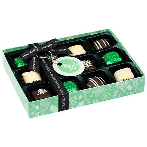 Buy House of Dorchester Mint Connoisseur Chocolate Selection, 160g Online at johnlewis.com
