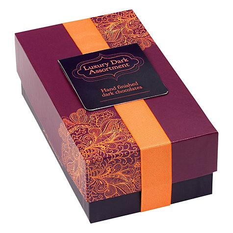 Buy House of Dorchester Luxury Dark Chocolate Assortment, 200g Online at johnlewis.com