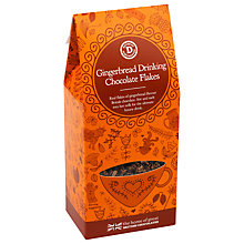 Buy House of Dorchester Gingerbread Drinking Chocolate Flakes, 180g Online at johnlewis.com