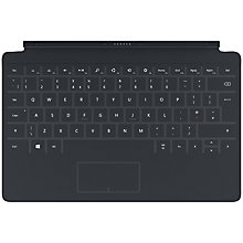 Buy Microsoft Touch Cover 2, Keyboard Cover for Microsoft Surface, Black Online at johnlewis.com
