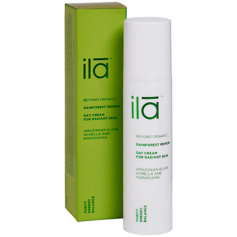 Buy Ila Spa Rainforest Renew Day Cream for Radiant Skin, 50ml Online at johnlewis.com