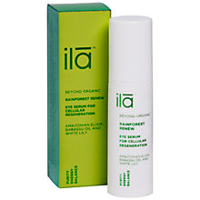 Buy Ila Spa Rainforest Renew Eye Serum for Cellular Regeneration, 15ml Online at johnlewis.com
