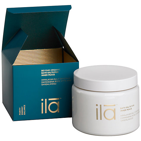 Buy Ila Spa Bath Salts for Inner Peace, 500g Online at johnlewis.com