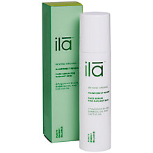 Buy Ila Spa Rainforest Renew Face Serum for Radiant Skin, 50ml Online at johnlewis.com