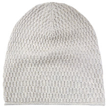 Buy Whistles Waffle Stitch Cashmere Hat Online at johnlewis.com