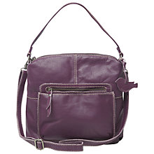Buy White Stuff Cruz Bag, Purple Online at johnlewis.com