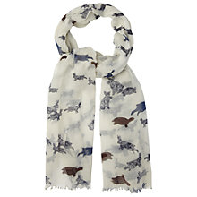 Buy White Stuff Hare And Tortoise Scarf, Off White Online at johnlewis.com