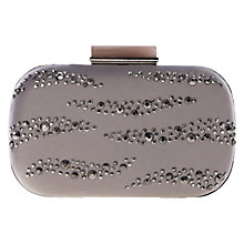 Buy Coast Crystal Clutch, Grey Online at johnlewis.com
