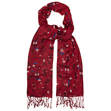 Buy White Stuff Russian Doll Scarf, Russian Red Online at johnlewis.com