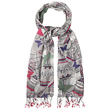 Buy White Stuff St Petersburg Scarf, Grey Online at johnlewis.com