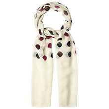 Buy White Stuff Spot Wool Scarf, Multi Online at johnlewis.com