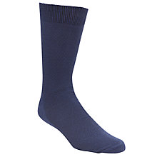 Buy JOHN LEWIS & Co. Textured Cotton Socks, One Size Online at johnlewis.com