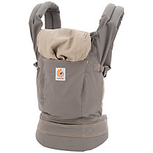Buy Ergobaby Xtra Baby Carrier, Grey Online at johnlewis.com