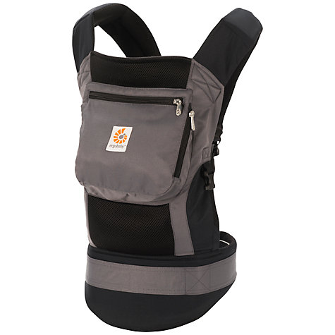 Buy Ergobaby Performance Bundle Of Joy Baby Carrier, Black/Grey Online at johnlewis.com