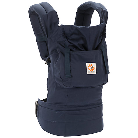 Buy Ergobaby Organic Bundle Of Joy Baby Carrier, Navy Online at johnlewis.com