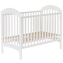 Buy John Lewis Elena Playbead Cot, White Online at johnlewis.com