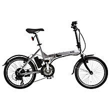 Buy A2B Kuo Bike, Silver Online at johnlewis.com
