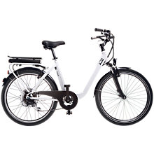 Buy A2B Ferber Electric Bike, White Online at johnlewis.com
