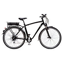 Buy A2B Men's Galvani Electric Bike, Black Online at johnlewis.com
