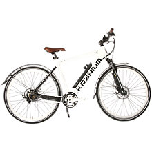 Buy Kranium KR2 White Label Bike, White Online at johnlewis.com