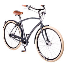 Buy Johnny Loco Men's Londoner Deluxe Bike, Grey Online at johnlewis.com