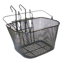 Buy Basil Wire Hook On Basket, Black Online at johnlewis.com