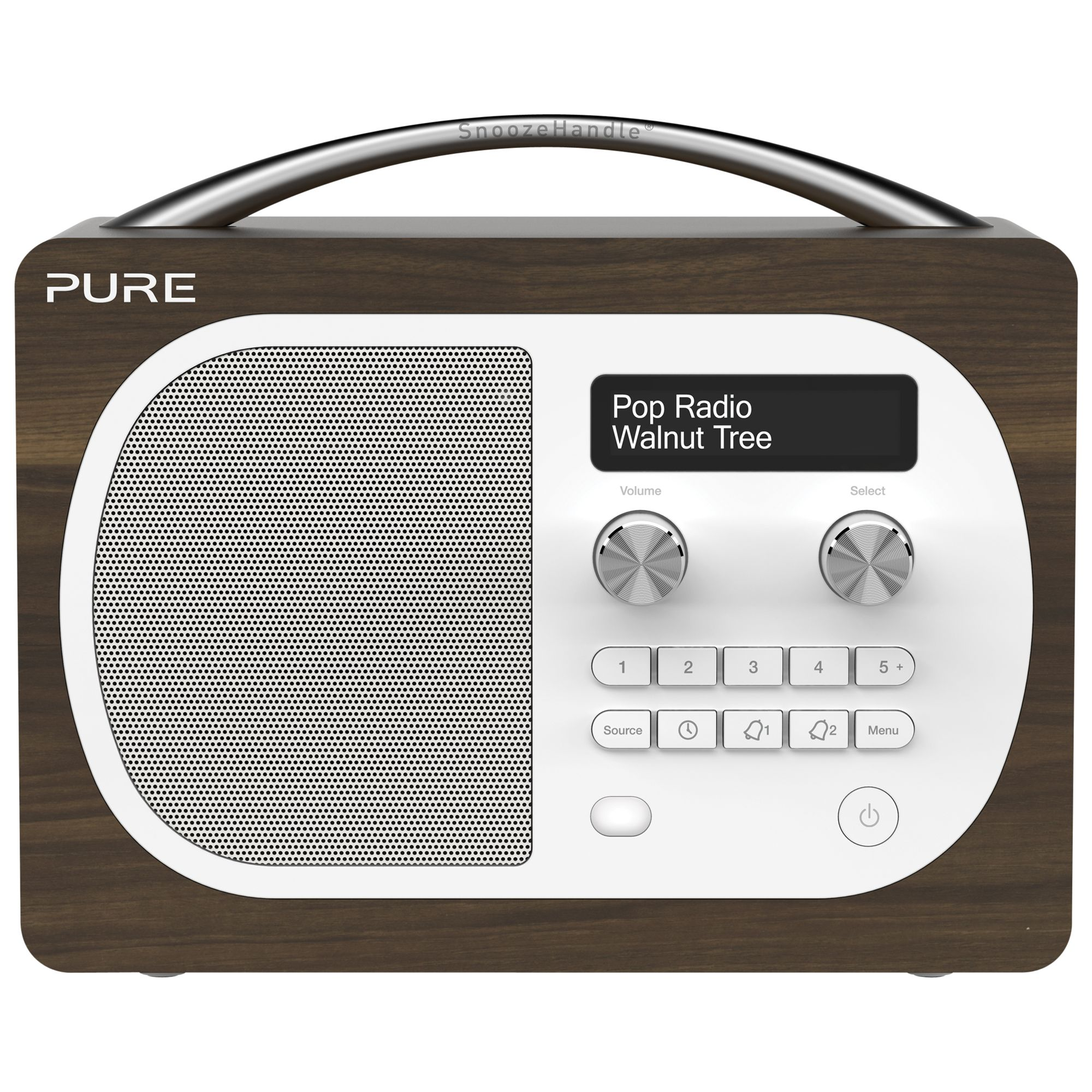 pure d4 dab radio compare prices at foundem. Black Bedroom Furniture Sets. Home Design Ideas