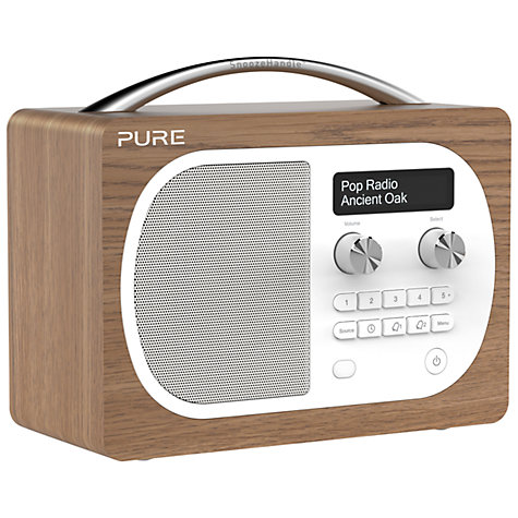 buy pure evoke d4 dab fm radio john lewis. Black Bedroom Furniture Sets. Home Design Ideas