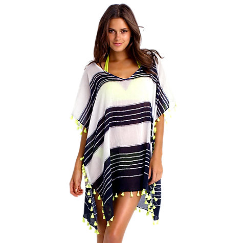 Buy Seafolly Coastline Kaftan, One Size Online at johnlewis.com