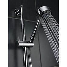 Buy Abode Euphoria AB2316 Wall Mounted Thermostatic Shower Valve and Sliding Rail Kit Online at johnlewis.com